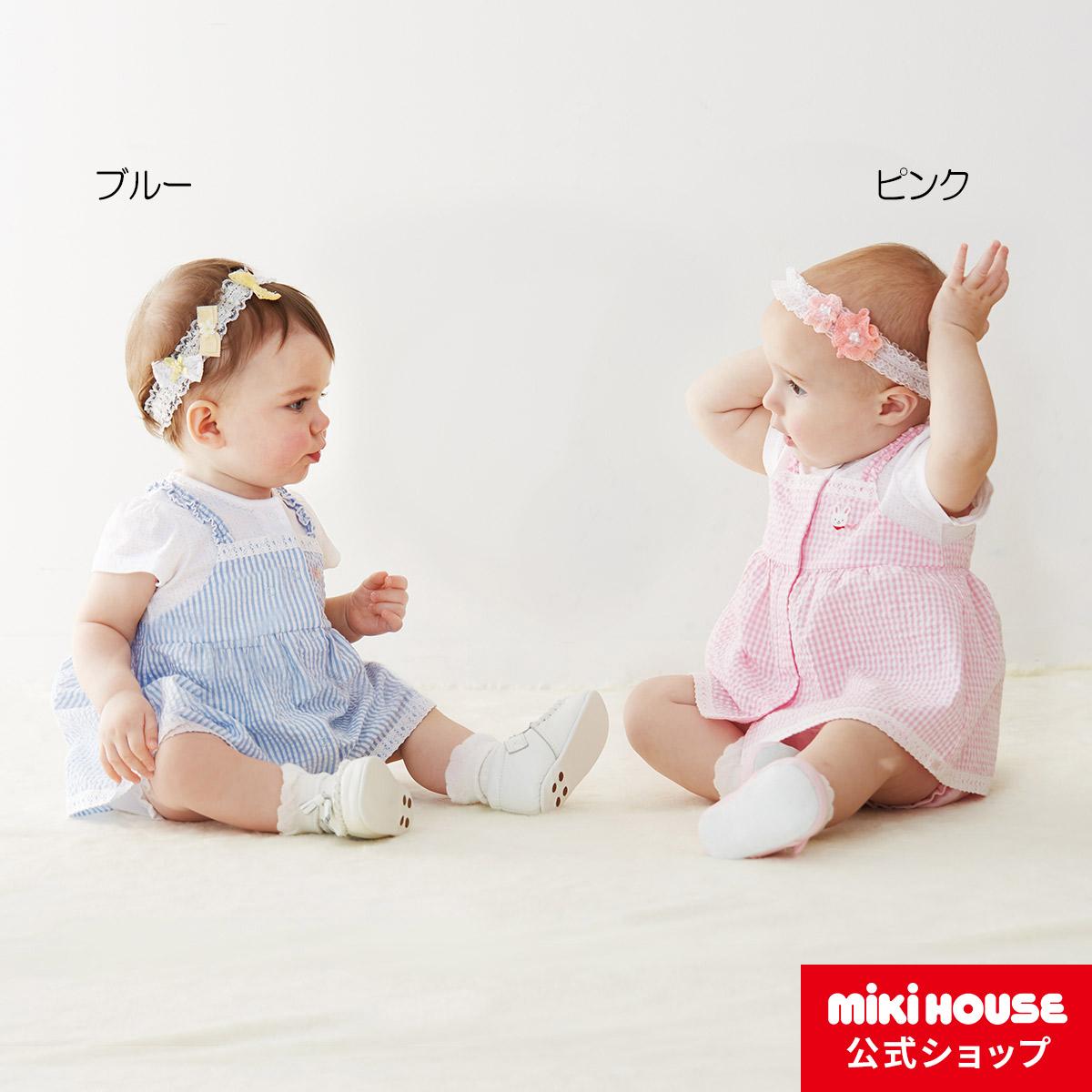 ミキハウス mikihouse ワンピース(70cm・80cm) ベビー服 子供服 赤ちゃん 女の子 スカート