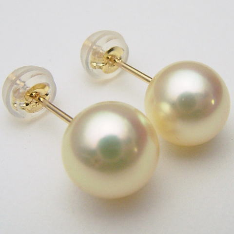 Pearl Cl Free Shipping Eiq 5989 Oh Akoya Genuine Atonal Colors Earrings Direct