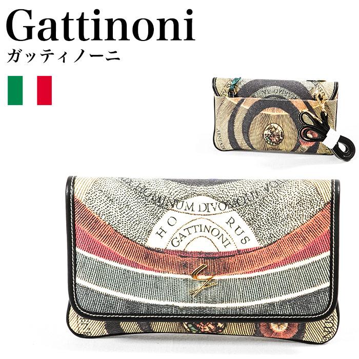 ガッティノーニ Gattinoni プラネタリウム クラッチバック GPLB038-100