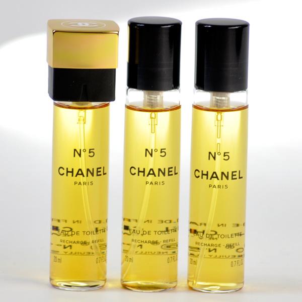 Perfume Refill Kenya: Rakuten Global Market: CHANEL Chanel No.5 Eau De Toilette Compact Spray Refill 20ml×3