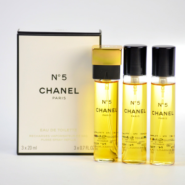 dd2b650e CHANEL Chanel No.5 Eau de toilette compact spray refill 20ml×3 5 SET RECH.  EDT VAPO 20-Rakuten lows challenge-free gift wrapping-friendly perfumes &  ...