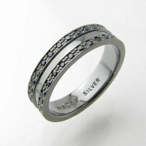 指輪 シルバー リング wacca エタニティ シルバーリングPZR5-BC