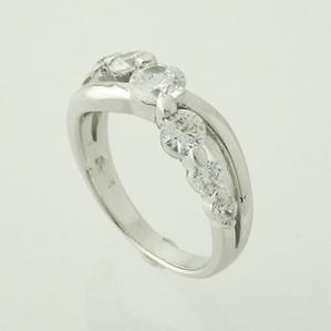 Cheri シェリ スーパーキュービックジルコニアデザインリングSR37-003【プレゼント】【指輪】