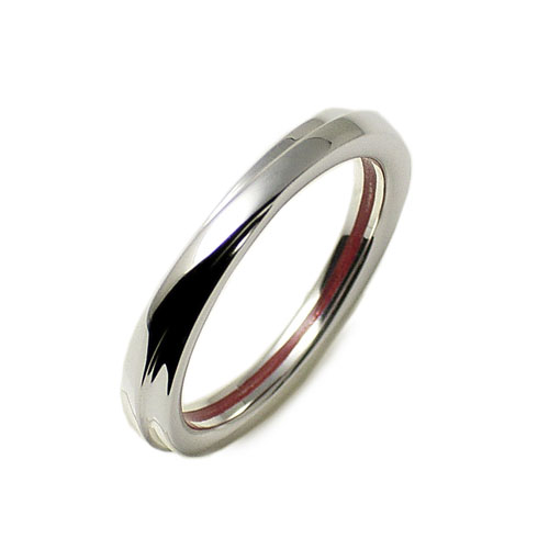 指輪 リング レデイース メンズ LOVE of DESTINY 運命の愛 絆 赤い 本物の糸 シルバーリング シンプル 交差クロス LODR-025