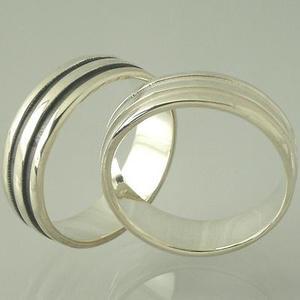 MILES Magenta【マイルズ マゼンタ】Wライン シルバーペアリングMR005-006【プレゼント】【指輪】【ペアリング】