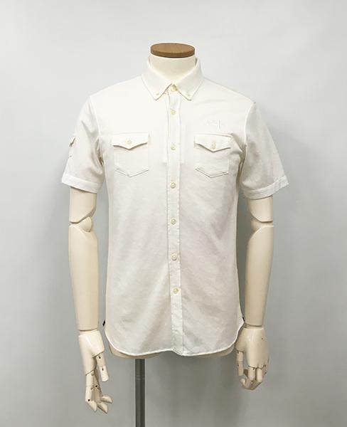 Camicia Sportiva+ (カミーチャスポルティーバプラス) Men's 半袖ボタンダウンパイロットシャツ [SALE][定価22000円] [送料無料]