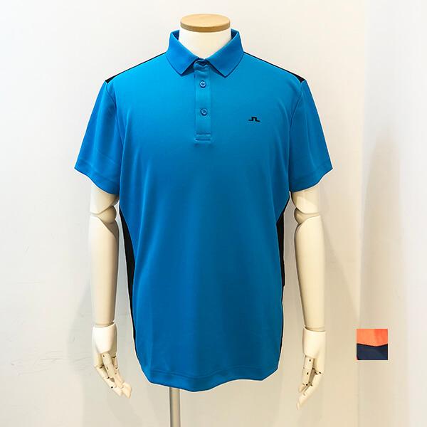 J.LINDEBERG (ジェイ リンドバーグ) Men's カラー切り替えポロシャツ 2020春夏新作[定価17000円]