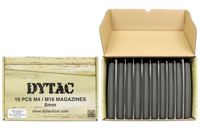 在DYTAC M4 300发杂志10个装★东京丸井M4系列(下一代不可)(DY-MAG03X-BK)