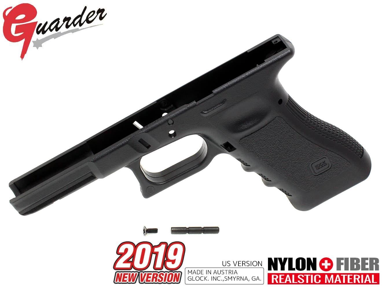 GLOCK-99(BK) ■ GUARDER girder US version 2019 original frame ★ Marui gas  etaac GLOCK Grock G17/18C