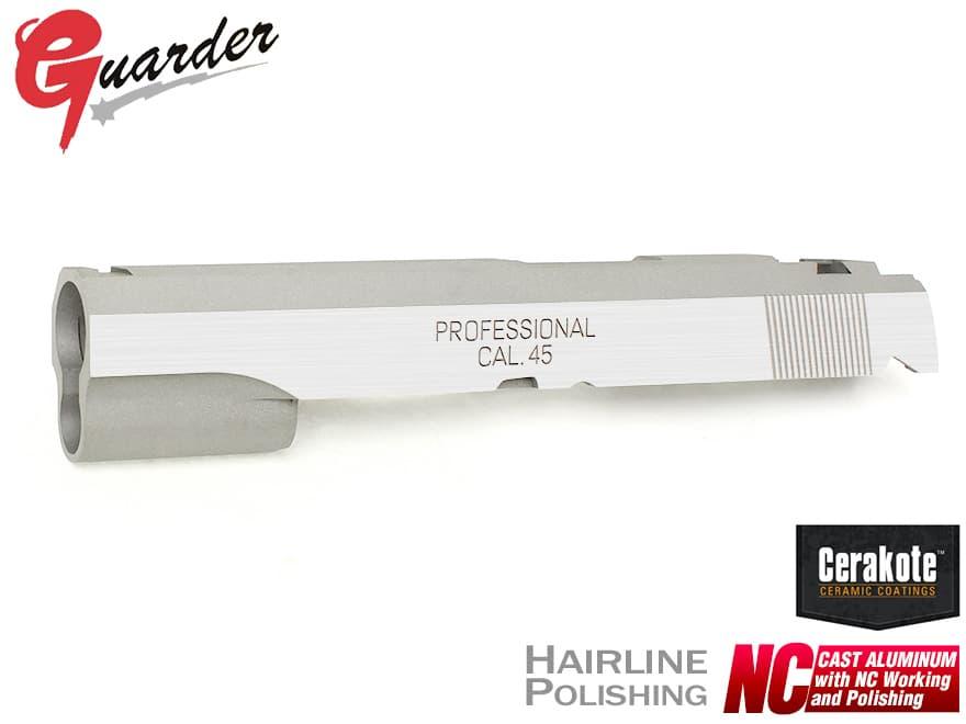 Ver)◆SFM 刻印 SPRING ハイキャパカスタム Hi-CAPA5.1 FIELD(Dual CAPA-25C(S)■GUARDER Silver NCアルミスライド