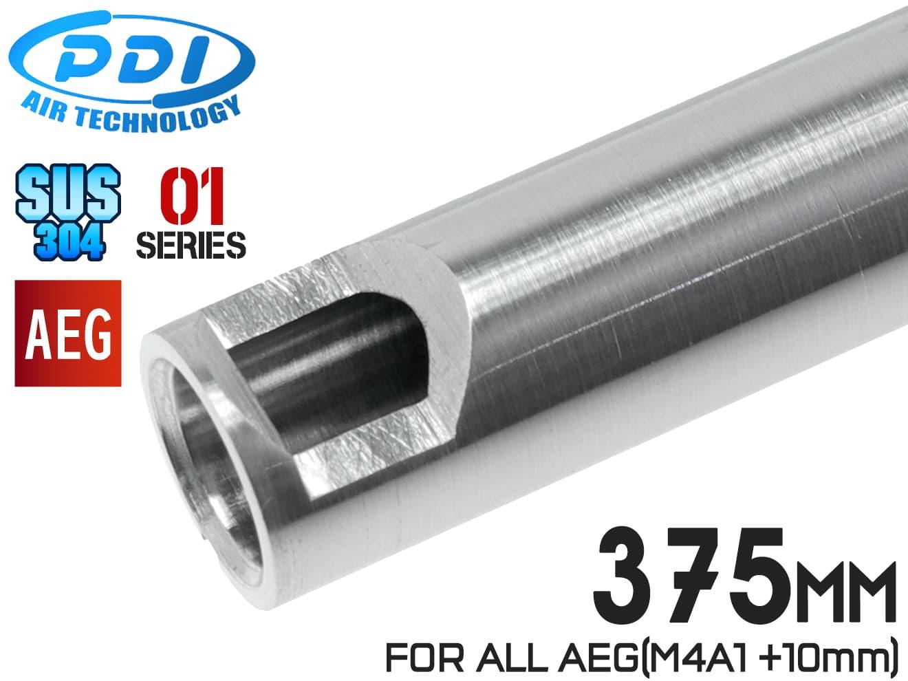 PDI 01シリーズ AEG 超精密 ステンレスインナーバレル(6.01±0.002) 375mm