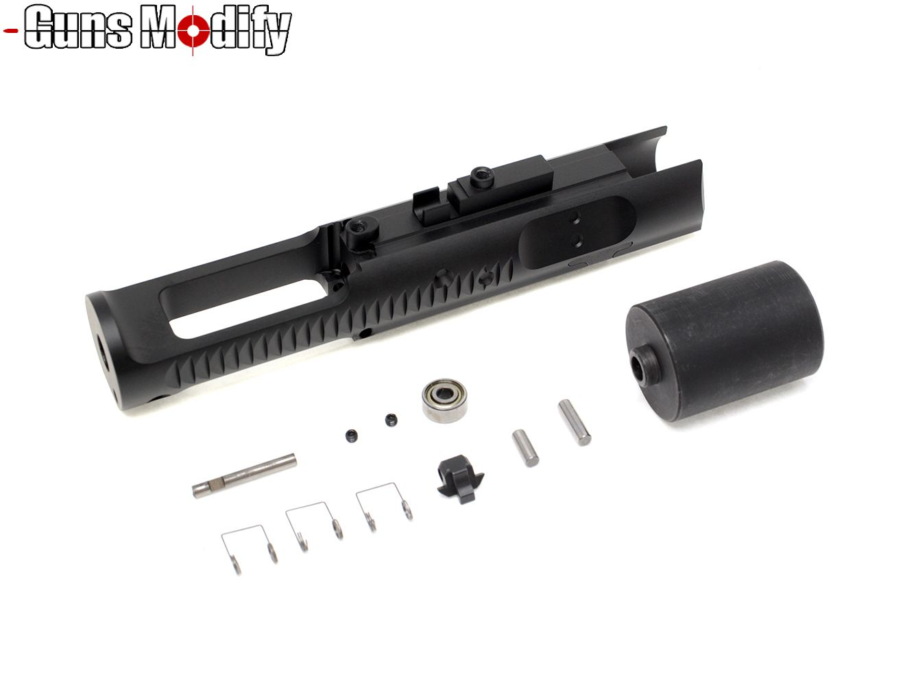Guns Modify A7003T6 CNC ZERO スピードボルトキャリア TM M4 MWS◆マルイ GBB M4 ガンズモディファイ ボルト アルミ削り出し アルミ合金 高耐久 カスタム