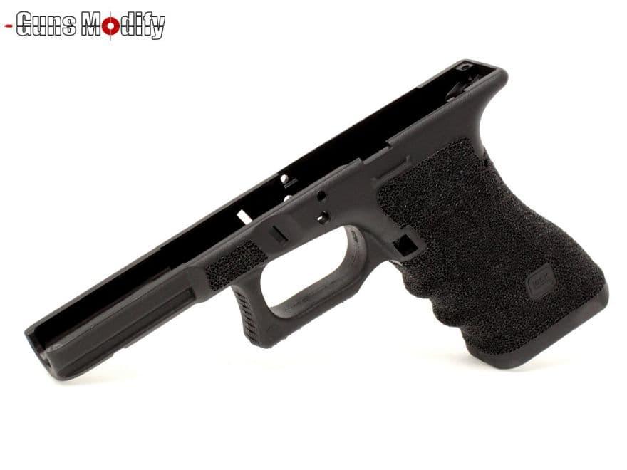 Guns Modify Gen3 ポリマー樹脂+ファイバー Tスタイル CNC ステッピングフレーム グロックシリーズ◆マルイ GLOCK G17/G18C/G22/G34用 TTI風 カスタムフレーム