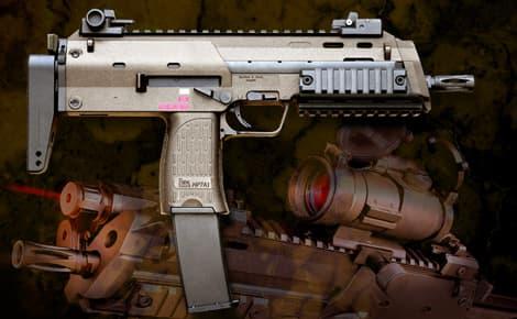 【送料無料】KSC ガスブローバックサブマシンガン MP7A1タクティカル TAN◆アンダーレイル装備