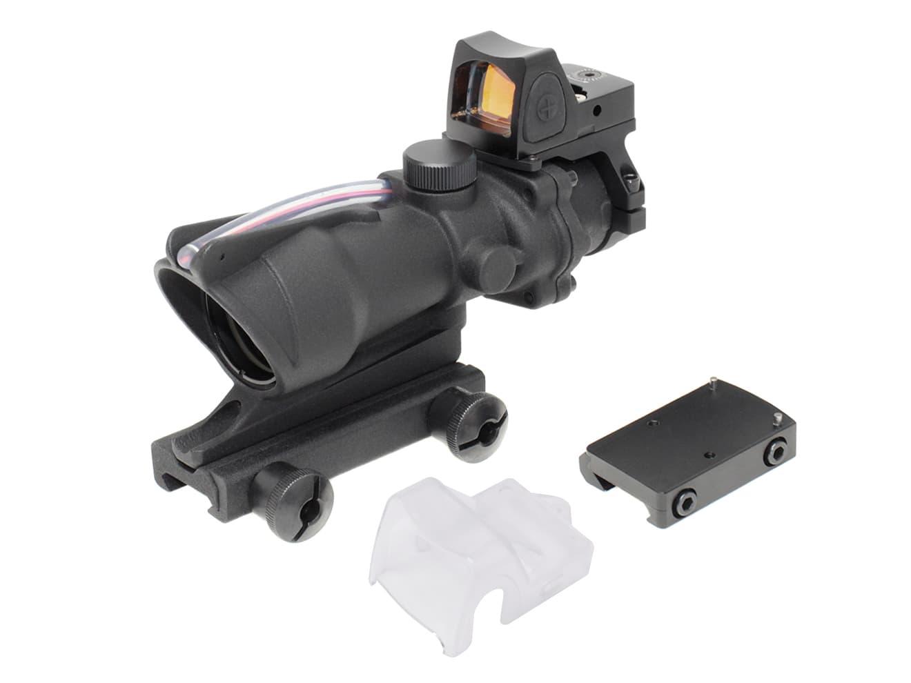 M150 RCO TA31 ECOS COMBO 4×32 タクティカル CQBスコープ(自動調光)◆SOCOM 4倍 20mmレール対応 TA31タイプ スコープ ドットサイト CQC