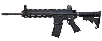 WE ガスブローバックライフル HK416D BLACK 無刻印モデル◆送料無料/リコイル/GBB/ライフル/WE-TECH