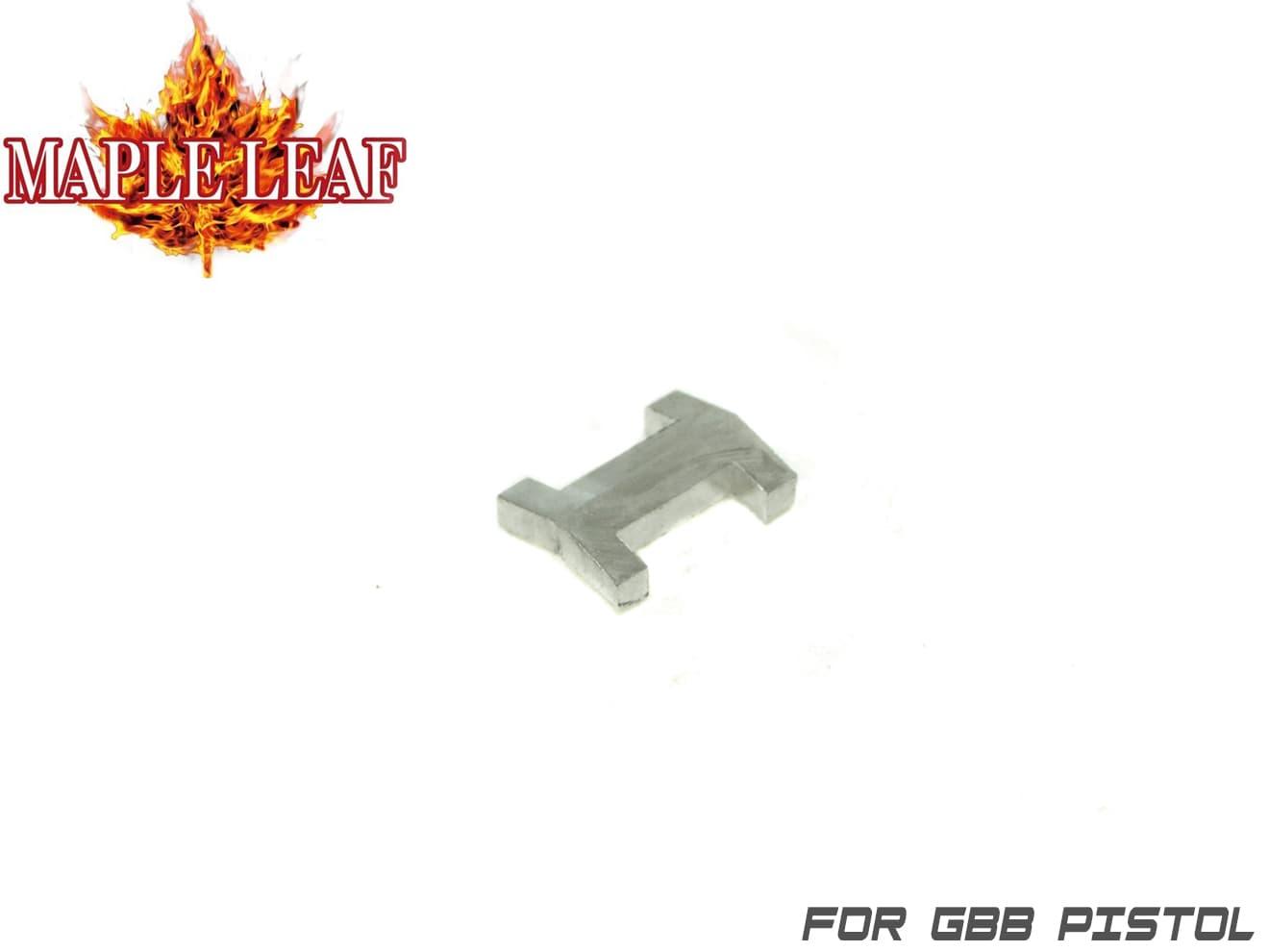 Maple Leaf HOPテンション強化パーツ I Key◆ホップ強化 ラウンドフラット形状 ホップ吐出量増大 長掛け強ホップ仕様 各社GBBハンドガン MONSTER/MACARONに対応