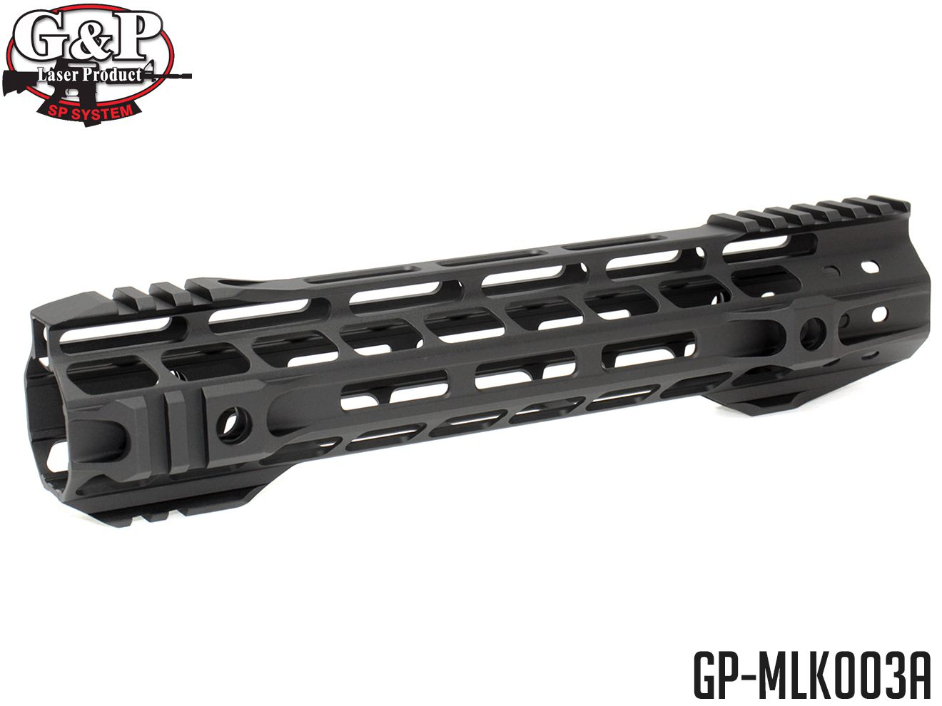 G&P MOTS 10.75インチ M-LOK RAS◆マルイ M4シリーズ(STD/次世代/MWS)対応 超軽量ハンドガード 20mmレール エムロック KSC GBB M4にも