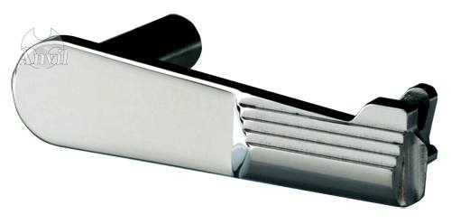 ANVIL CNCステンレススライドストップ シルバー セレーション 東京マルイGBB M1911シリーズ用◆TM-GMP-N01-SS/MEU/ハイキャパ/アンヴィル/ガバメント/送料無料