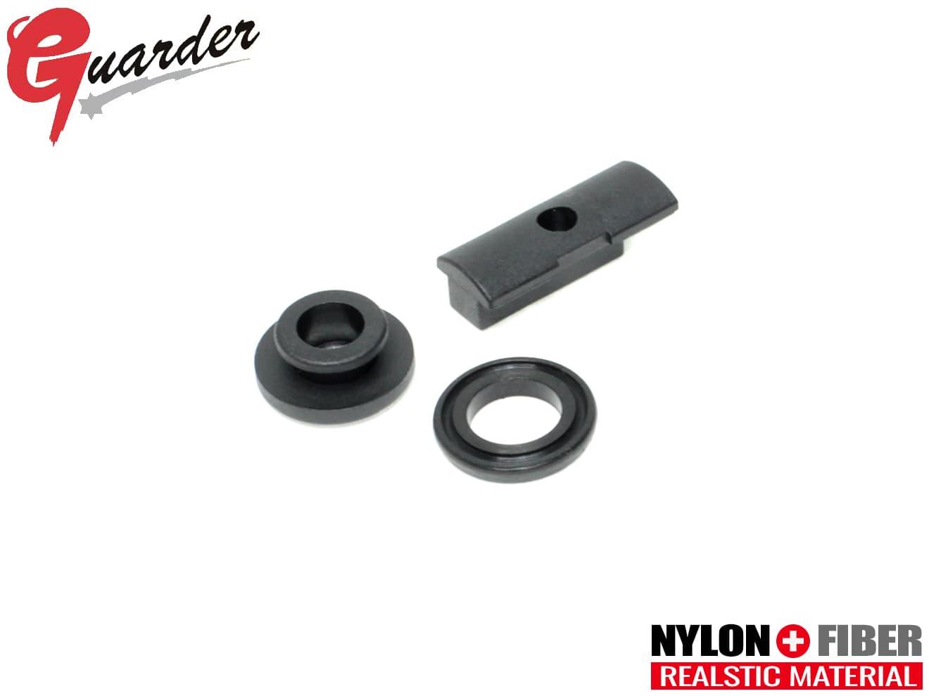 GUARDER ガーダー ピストンヘッド GBB ハイキャパ4.3 ハイキャパ5.1 ゴールドマッチ マッチカスタム デザートウォーリアー アウトレットセール 特集 フォリッジウォーリアー Yリング CAPA-42■GUARDER Hi-CAPA ガスブローバック 高級な 強化ピストンヘッドセット ポリマー 純正互換品 H51-12 H51-13 硬度90°ラバー採用 ハイキャパ対応 東京マルイ