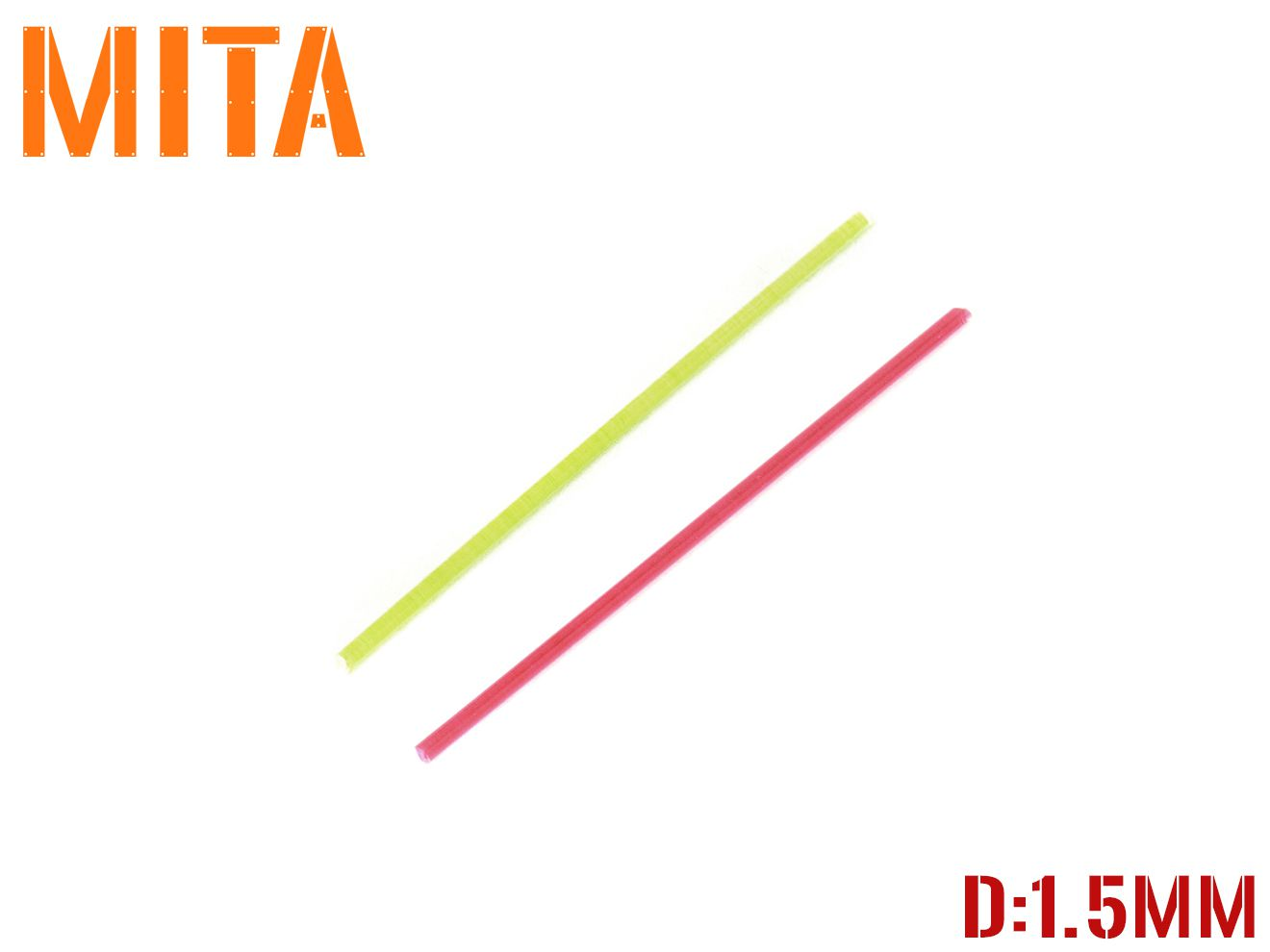 MITA M.I.T.AIRSOFT ドットサイト ファイバーサイト マイクロファイバー GLOCK お金を節約 G17 G18C G22 G34 Hi-CAPA ハイキャパ M1911A1 MEU 視認性アップ M9A1 補修用ファイバー グリーンレッド 1.5mm 修理 HK45 ガンサイト用 ファイバーオプティック 交換 アウトレット☆送料無料 直径1.5ミリ MP9 WEKJ 集光サイト