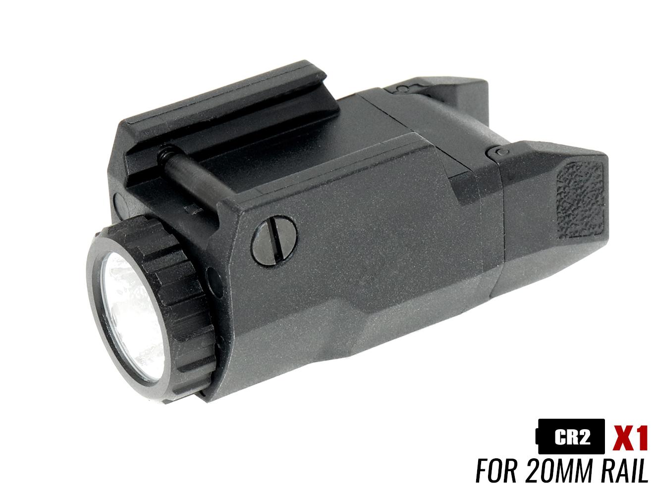 MILITARY-BASE(ミリタリーベース) INFORCEタイプ APL-C ポリマーウェポンライト◆コンパクトサイズ G19 G26 USP-C HK45 フラッシュライト