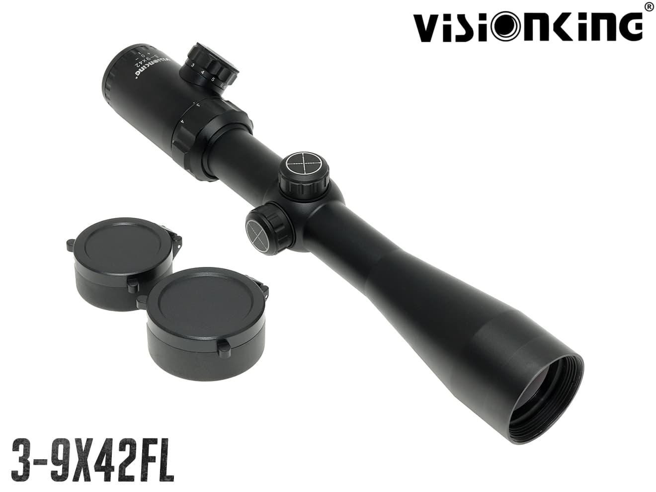 VISION KING 3-9x42FL ジャーマンスペック ライフルスコープ Gen1 w/イルミネーション ナイトロイン◆実銃対応 ドイツ限定モデル コスパ◎