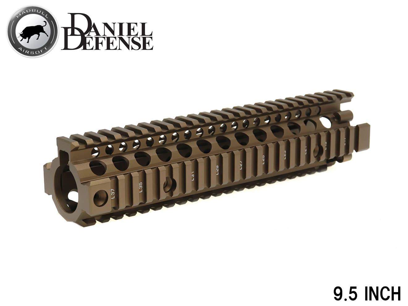 【送料無料】MADBULL DD ライトレール MK18 RIS2 9.5 DE◆フリーフロート/ラス/ハンドガード/ダニエルディフェンス/M4A1/M4MWS