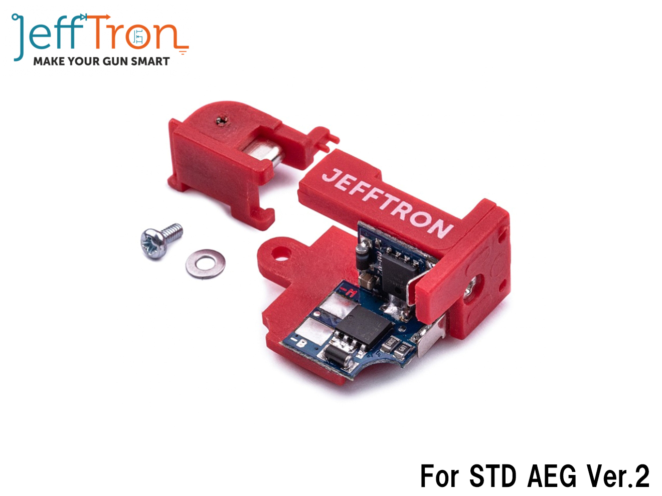 Jefftron アクティブブレーキ V2◆FET/モーターブレーキ/電動ガン/AEG/デバイス/active brake/東京マルイ/バージョン2/Ver.2