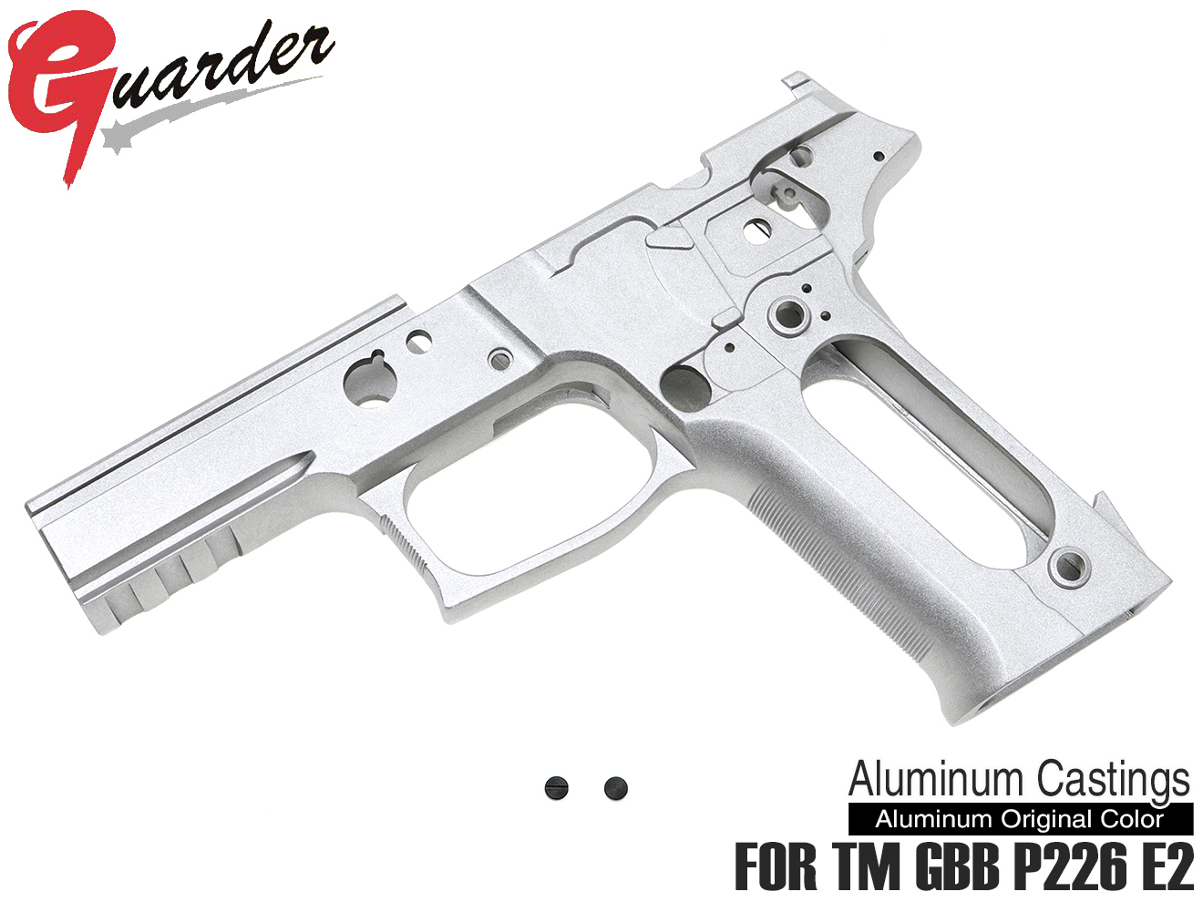 P226-64(A)■GUARDER P226 E2 フレームKIT E2 Marking マルイ P226 E2用 ◆オリジナルアルミカラー TM GBB P226 E2シリーズ対応 カスタムフレーム