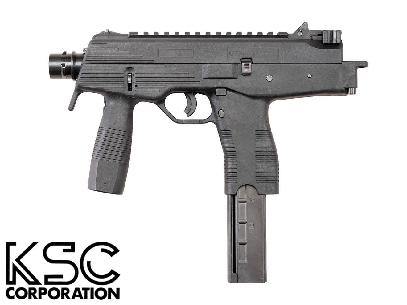 KSC ガスブローバック MP9◆送料無料/ガスブロ/ガスガン/SMG/サブマシンガン/TMP/小型マシンガン/MP-9/日本製