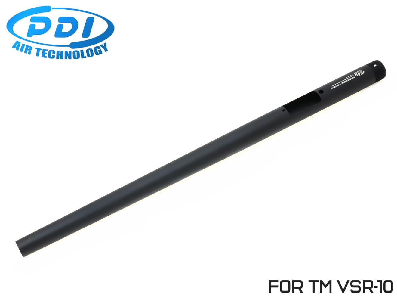 PDI テーパードバレル 東京マルイ VSR-10用 570mm◆フロントヘビー/ワンピースバレル/純正対応/テーパー加工