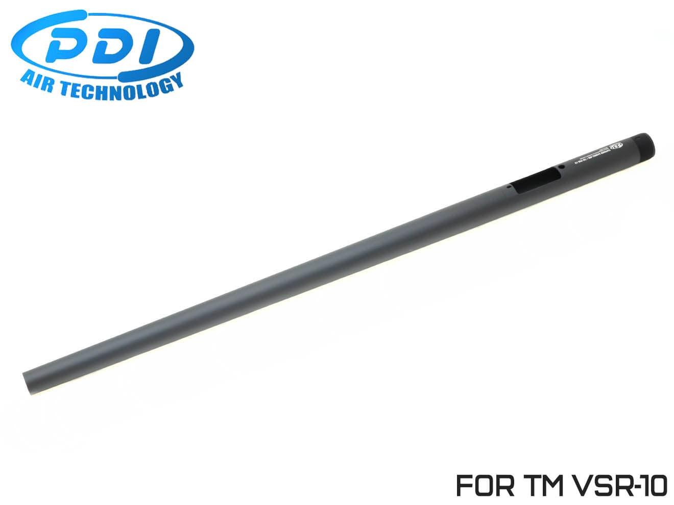 PDI テーパードバレル 東京マルイ VSR-10用 690mm◆フロントヘビー/ワンピースバレル/純正対応/テーパー加工