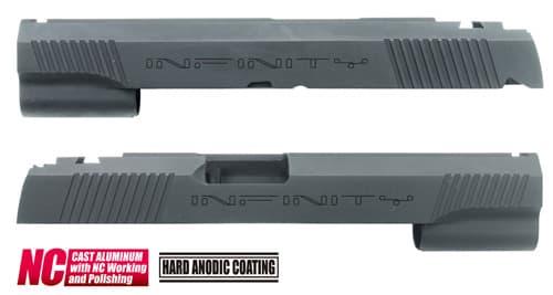 CAPA-22(I)BK■【送料無料】GUARDER Hi-CAPA5.1 CNC アルミスライド IF (Custom Ver)◆INFINITY/インフィニティ/質感アップに!