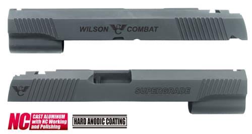 CAPA-22(W)BK■【送料無料】GUARDER Hi-CAPA5.1 CNC アルミスライド WC (CustomVer)◆WilsonCombat/ウィルソンコンバット/ドレスアップに!
