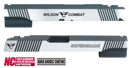 CAPA-24(W)■【送料無料】GUARDER Hi-CAPA5.1 CNC アルミスライド WC (Dual Custom Ver)◆WilsonCombat/ウィルソンコンバット/BK×SILVER