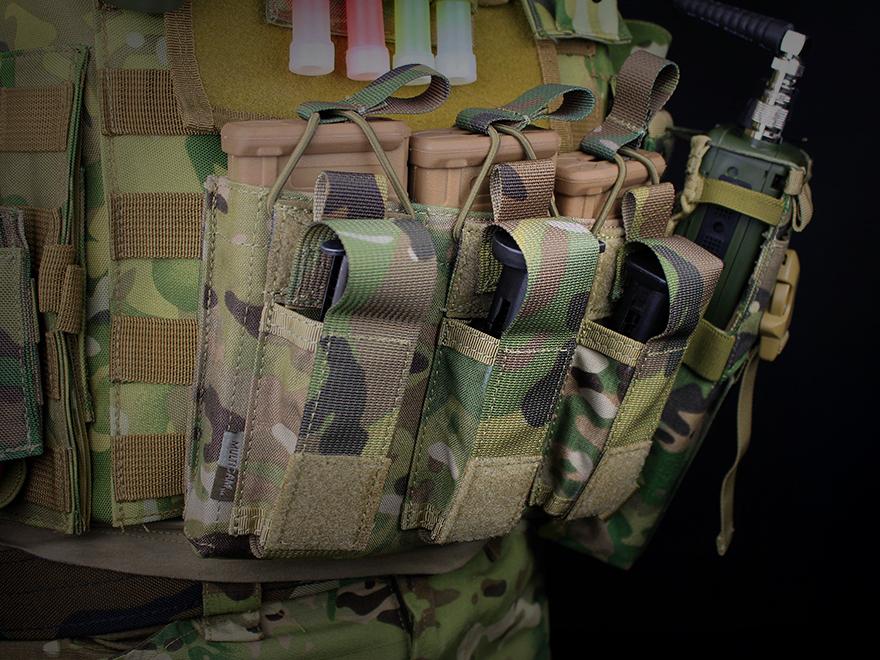 STANAG啤酒杯&M92F/G18C/P226 EMERSON GEAR 5.56&手枪三倍杂志门/MC◆M4/M16/SCAR支持手枪啤酒杯