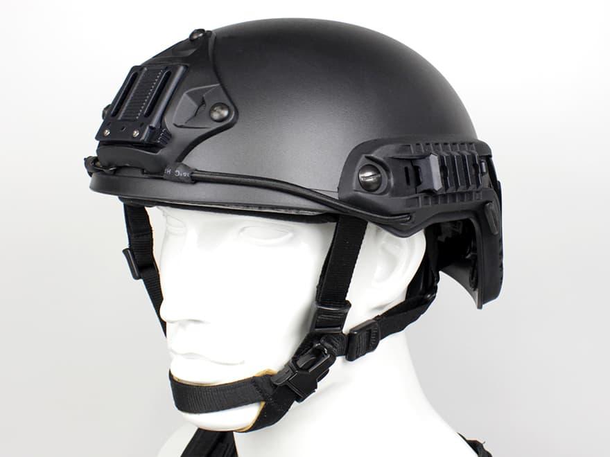 OPS-CORE FAST BALLISTIC タイプ ヘルメット BK M/L◆VSAシュラウド標準装備/米軍/特殊部隊