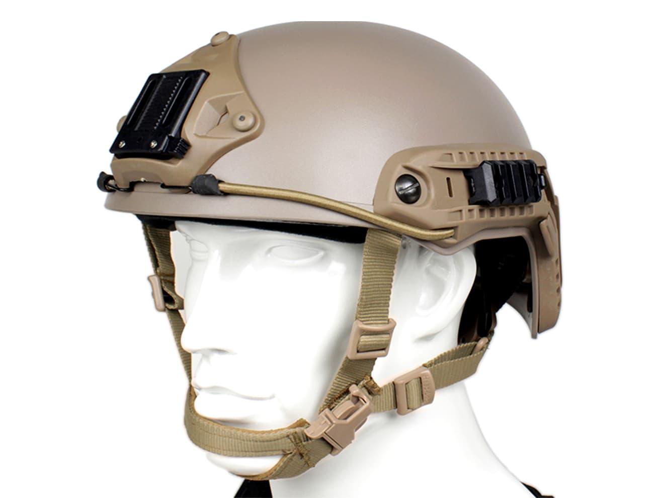 OPS-CORE FAST BALLISTIC タイプ ヘルメット DE M/L◆VSAシュラウド標準装備/米軍/特殊部隊
