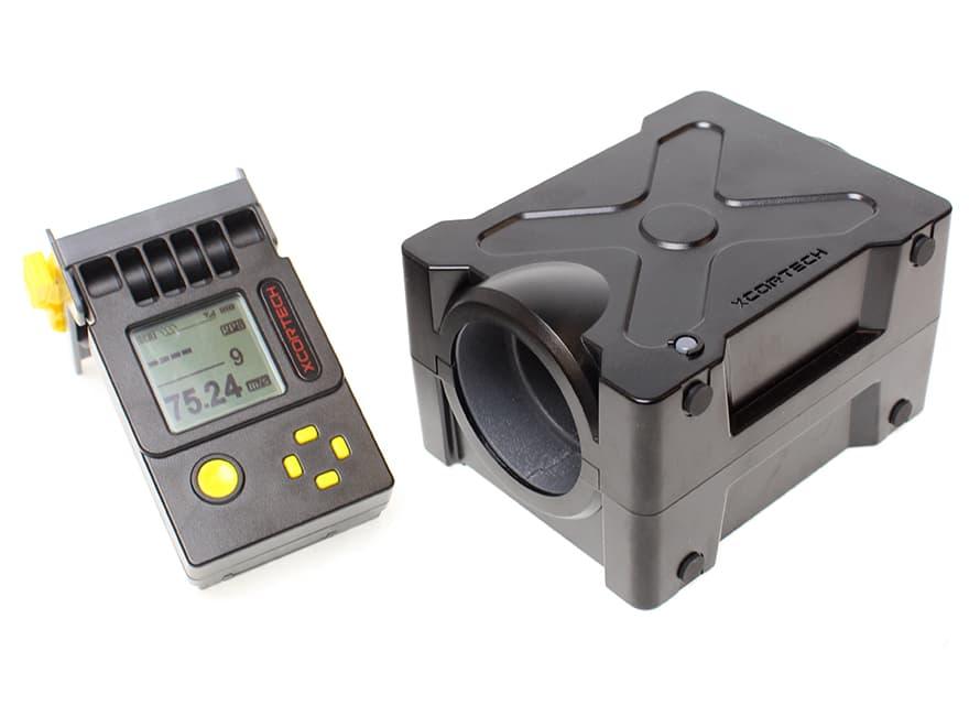 【180日保証付き/完全解説日本語取説付き】XCORTECH 弾速測定器 X3500◆液晶遠隔モデル!平均値自動計算/バッテリーインジケーター搭載/BB弾速度計/スピードガン