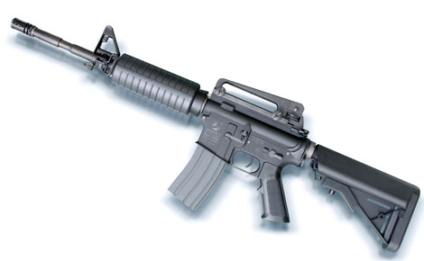 KSC 電動リコイルエアガン M4A1-ERG/強烈なリコイルショックをダイレクトに体感!