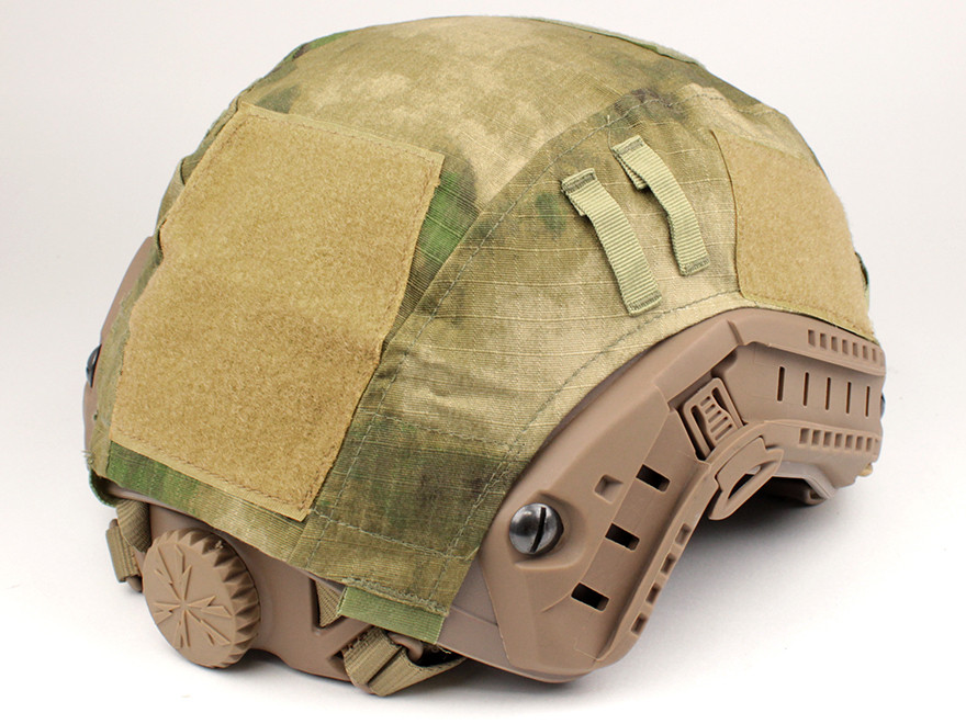 EMERSON GEAR tactical helmet cover /A-TACS-FG ♦ in coordination with PJ/MH  Series compatible and equipped with