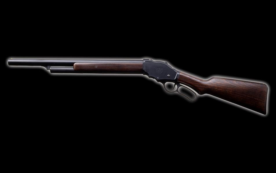 マルシン M1887 ガーズガン 木製ストックバージョン・6mmBB エアガン エアーガン