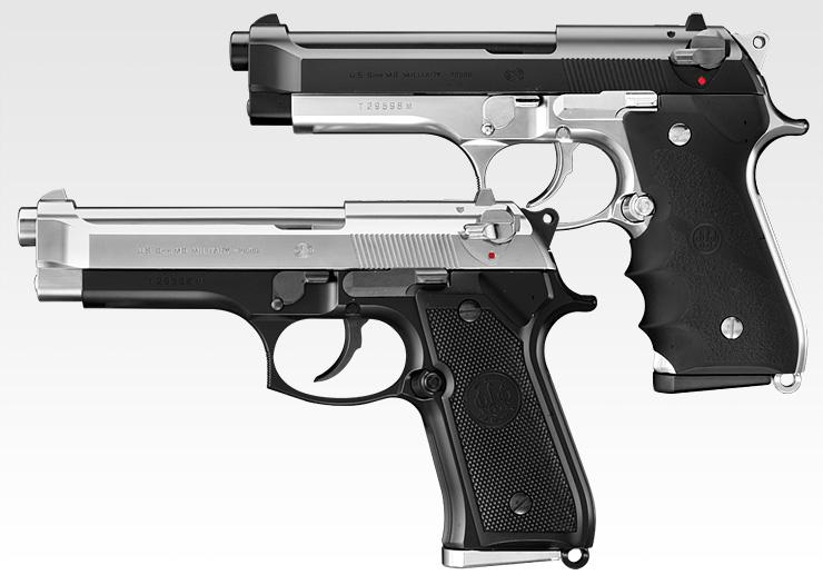 東京マルイ ガスブローバック M92F スライドシルバー エアガン エアーガン ガスガン