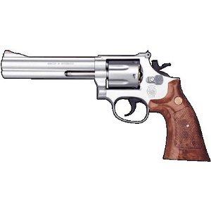 クラウンモデル ガスリボルバー M686.357マグナム シルバータイプ 6インチ 18才以上用 エアガン エアーガン ガスガン