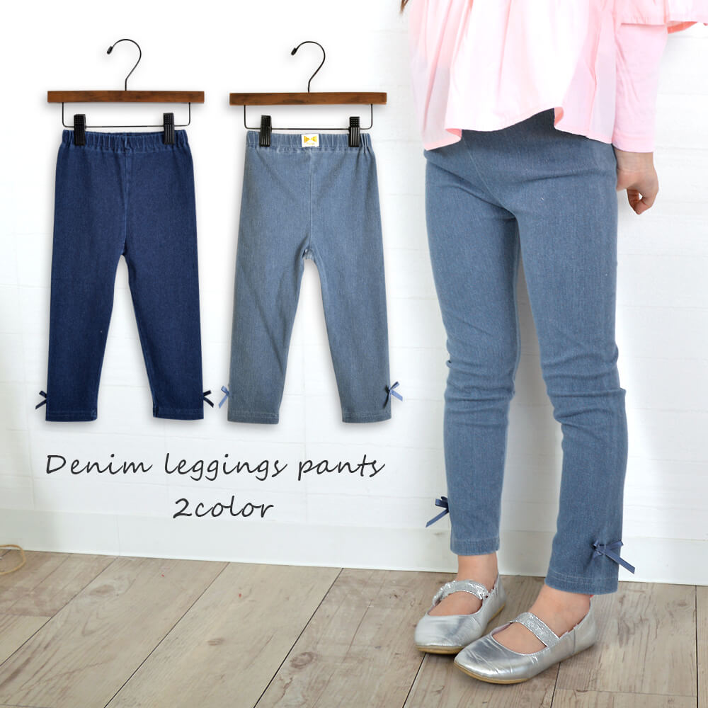 It is spring clothing winter clothing autumn in child children\u0027s clothes  kids cute stylish denim leggings underwear pants girl Milkiss milk Shin  pull