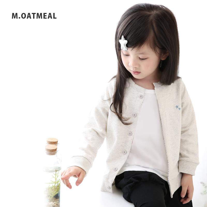 Crewneck Cardigan Cardigans Girls Boys Unisex Kids Baby Clothes Colorful Norm Core Korea 70 Cm80cm 90 Cm95cm
