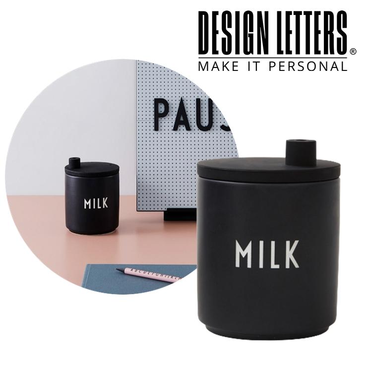 割り引きクーポン配布中 送料無料 PORCELAIN MILK JUG WITH LID 蓋付き 初回限定 ポーセリン BY ミルクジャグ DESIGN デザインレターズ メーカー公式 LETTERS