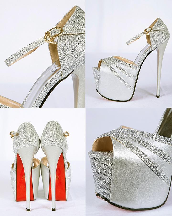Luxurious Line Bijou Opening Toe Sandals High Heeled Shoes Pumps Line Bijou Luxurious Open Toe Sandals Pin Heel Sandals Sandals Wedding Ceremony