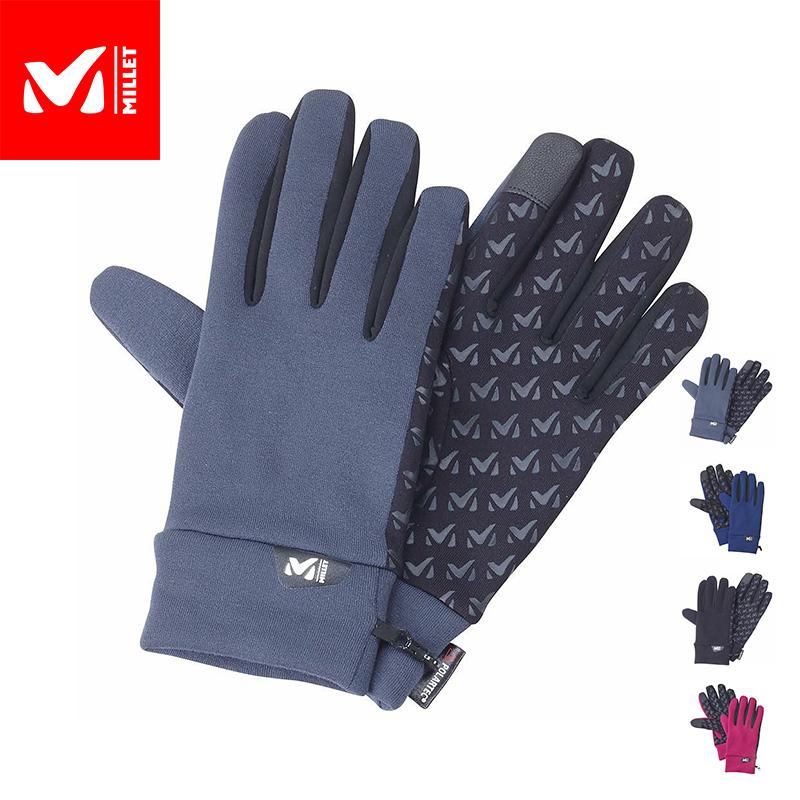 高い操作性と保温性を両立させた汎用性の高いストレッチグローブ 公式 ミレー Millet 全品送料無料 ウォーム ストレッチ 今だけ限定15%OFFクーポン発行中 トレック あす楽 WARM MIV01468 GLOVE グローブ TREK 手袋